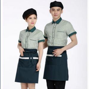 May đồng phục nhà hàng
