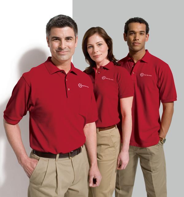 May áo thun công ty