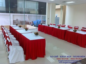 AG01 – may- sản xuất khăn trải bàn theo yêu cầu