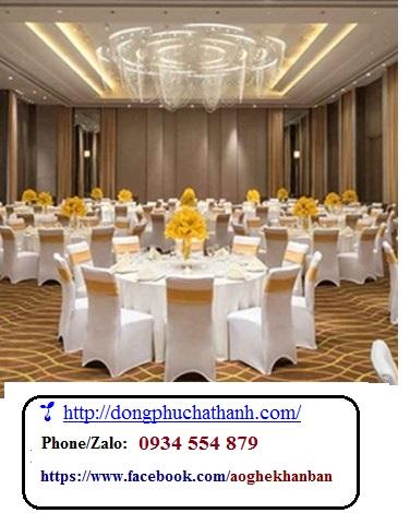 ĐPHT May áo ghế nhà hàng - Áo ghế sự kiện hội nghị...