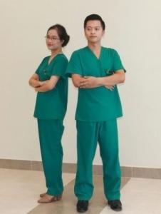 Đồng phục bác sỹ mổ - TN06