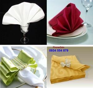 khăn ăn nhà hàng