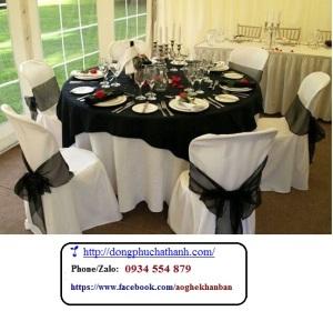 AG 33 – Khăn trải bàn, mau khan trai ban dep