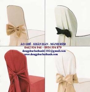 AG 40 – Khăn trải bàn, áo ghế